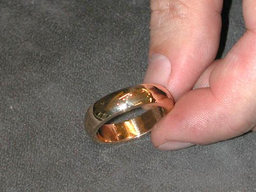 Ringen är färdig